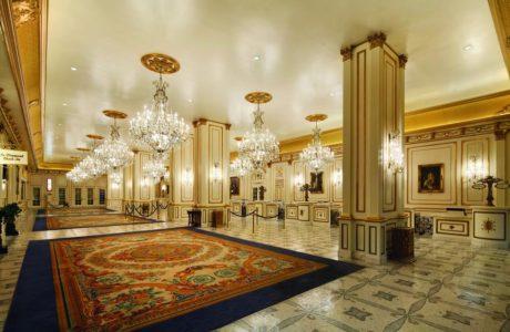 Paris Las Vegas grand Lobby